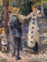 La balançoire (Auguste Renoir) - Muzeo.com