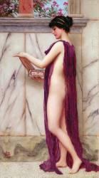 La Boîte à Bijoux (Un Czdeau Précieux) (John William Godward) - Muzeo.com