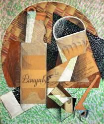 La bouteille de Banyuls (Gris Juan) - Muzeo.com
