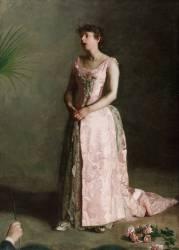 La Chanteuse de Concert (Thomas Eakins) - Muzeo.com