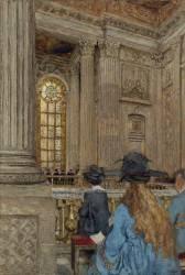 La chapelle du château de Versailles (Vuillard Edouard) - Muzeo.com