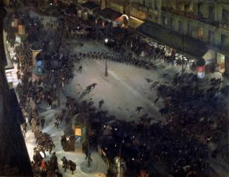 La charge (André Devambez) - Muzeo.com