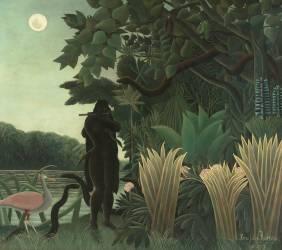 La charmeuse de serpents (Henri Rousseau) - Muzeo.com