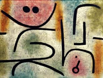 La clé cassée (Paul Klee) - Muzeo.com