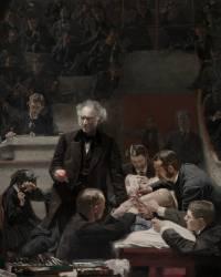 La Clinique du Dr Gross (Thomas Eakins) - Muzeo.com