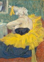 La clownesse Cha-U-KO, artiste au Moulin rouge (Henri de Toulouse-Lautrec) - Muzeo.com
