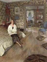 La comtesse Jean de Polignac, née Marie-Blanche di Pietro (1897-1958) (Edouard Vuillard) - Muzeo.com