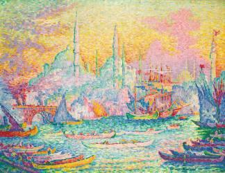 La Corne d'Or (Constantinople) (Paul Signac) - Muzeo.com