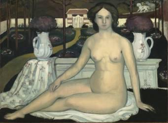 La Dame au jardin clos (Marthe Denis) - Muzeo.com