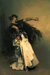 La Danseuse Espagnole, étude pour