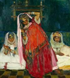 La Danseuse rouge (Alfred Dabat) - Muzeo.com