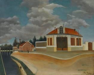 La Fabrique de chaises à Alfortville (Le Douanier Rousseau) - Muzeo.com