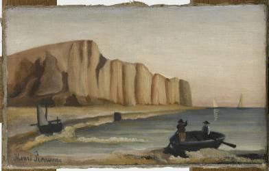 La Falaise (Le Douanier Rousseau) - Muzeo.com