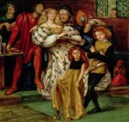 La famille des Borgia (Dante Gabriel Rossetti) - Muzeo.com