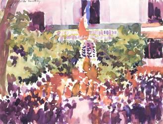 La Fête-Dieu à Luçon en 1916 (Anonyme) - Muzeo.com