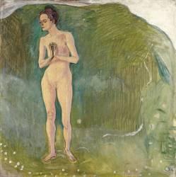 La Femme dans le Courant (Ferdinand Hodler) - Muzeo.com