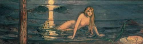La femme de la mer (Edvard Munch) - Muzeo.com