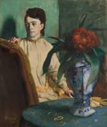 La femme à la potiche (Edgar Degas) - Muzeo.com
