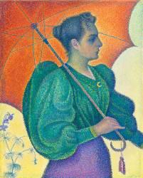 La Femme à l'ombrelle (Signac Paul) - Muzeo.com