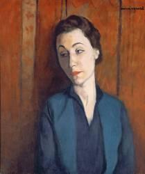 La Femme en Bleu (Albert Marquet) - Muzeo.com