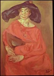 La femme rouge (Chaïm Soutine) - Muzeo.com