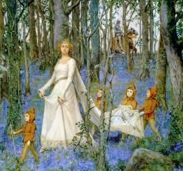 La forêt enchantée (Henry Meynell Rheam) - Muzeo.com