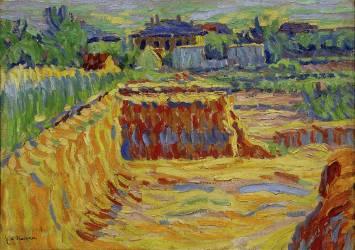 La Fosse de Glaise (La Carrière d'Argile) (Ernst Ludwig Kirchner) - Muzeo.com