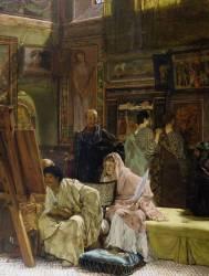 La galerie de peinture (Lawrence Alma-Tadema) - Muzeo.com
