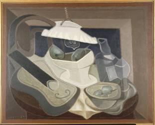 La Lampe électrique (Juan Gris) - Muzeo.com