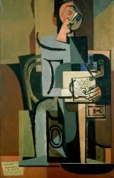 La Lettre (Louis Marcoussis) - Muzeo.com