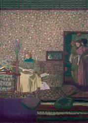 La liseuse (Edouard Vuillard) - Muzeo.com