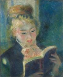 La liseuse (Auguste Renoir) - Muzeo.com