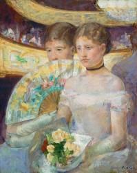La Loge (Mary Cassatt) - Muzeo.com