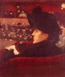 La loge (Forain Jean-Louis) - Muzeo.com