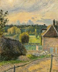 La Maison de la folie à Eragny (Camille Pissarro) - Muzeo.com