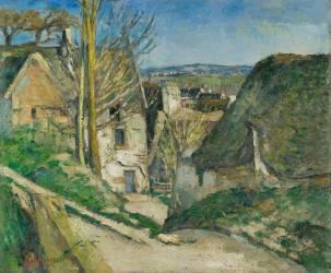 La maison du pendu, Auvers-sur-Oise (Paul Cézanne) - Muzeo.com