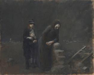 La Maison retrouvée, Première Guerre mondiale (Forain Jean-Louis) - Muzeo.com