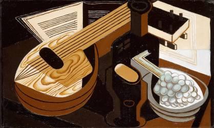 La Mandoline (Juan Gris) - Muzeo.com