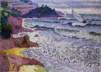 La mer Clapotante (Henri-Edmond Cross) - Muzeo.com
