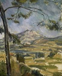 La montagne Sainte Victoire (Anonyme) - Muzeo.com