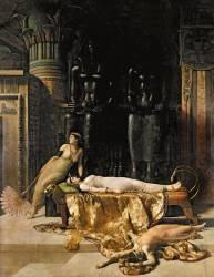 La mort de Cléopâtre (John Collier) - Muzeo.com