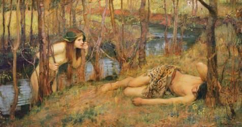 La naïade (John William Waterhouse) - Muzeo.com