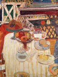 La nappe blanche (Pierre Bonnard) - Muzeo.com