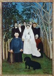 La noce (Le Douanier Rousseau) - Muzeo.com
