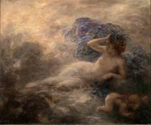 La Nuit (Fantin-Latour Henri) - Muzeo.com