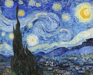 La nuit étoilée (Van Gogh Vincent) - Muzeo.com