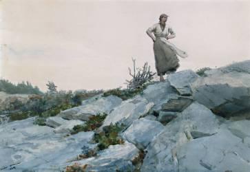La Ramasseuse de Bois (Winslow Homer) - Muzeo.com