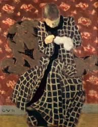 La Ravaudeuse (Edouard Vuillard) - Muzeo.com