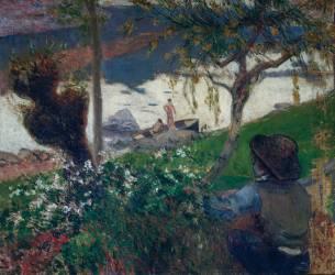 La rivière blanche (Paul Gauguin) - Muzeo.com