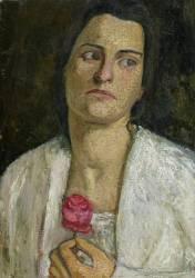 La Sculpteuse Clara Rilke-Westhoff (1878-1954) (Paula Modersohn-Becker) - Muzeo.com